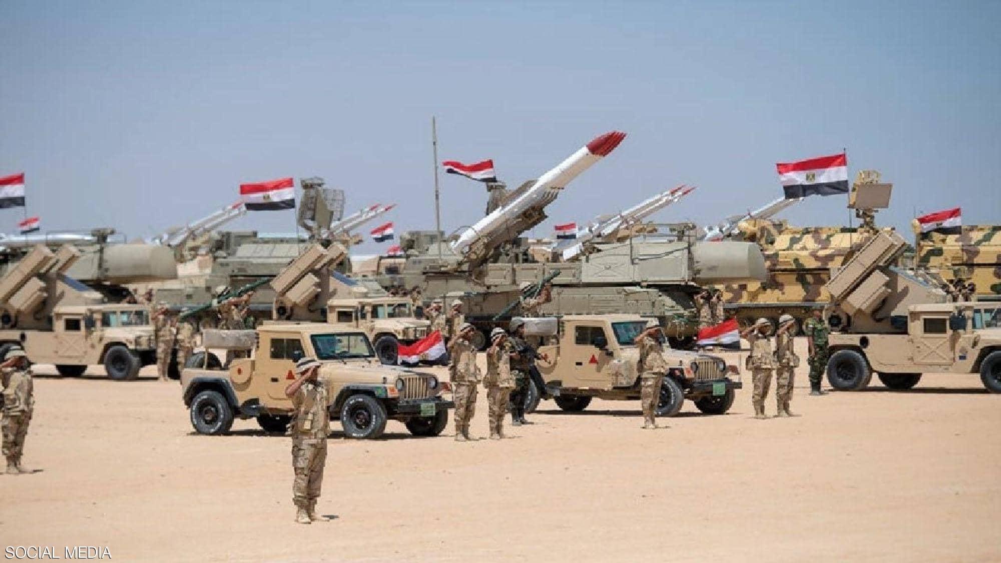 أول تعليق للجيش المصري على أنباء إرسال قوات إلى سوريا