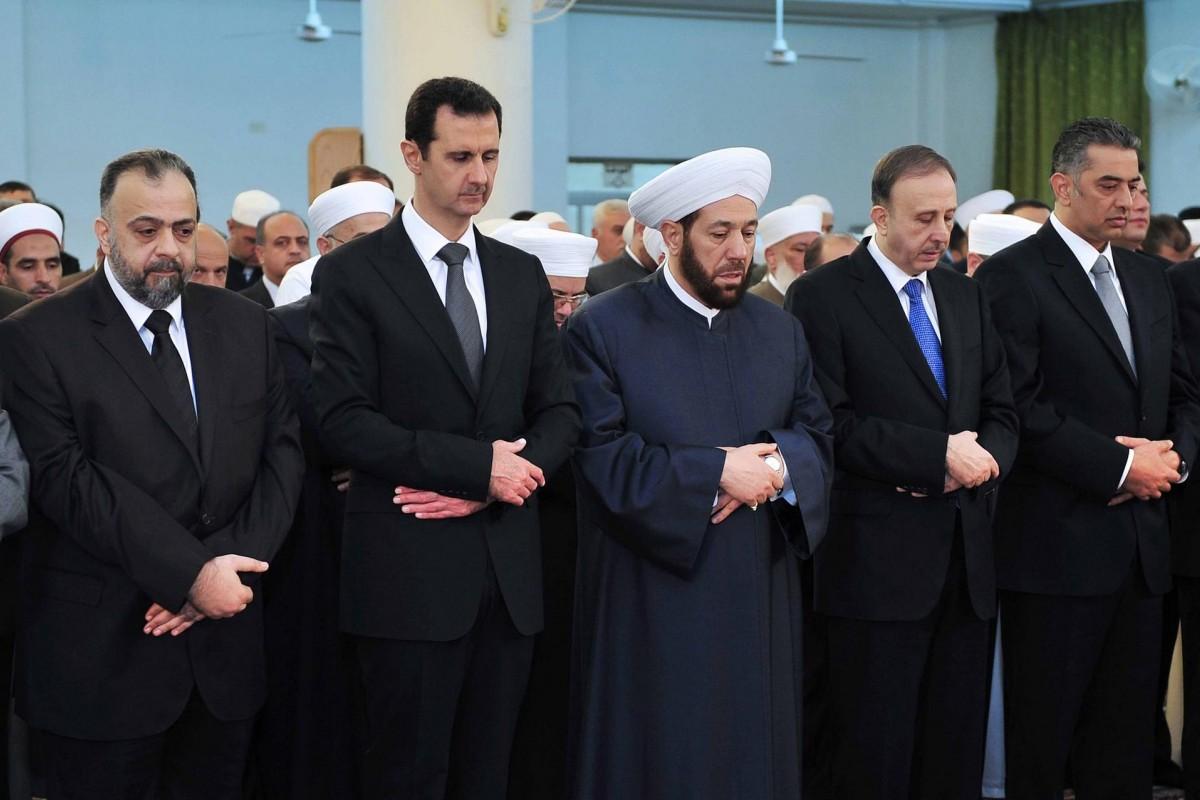 للمرة الثانية .. بشار الأسد لا يؤدي صلاة العيد