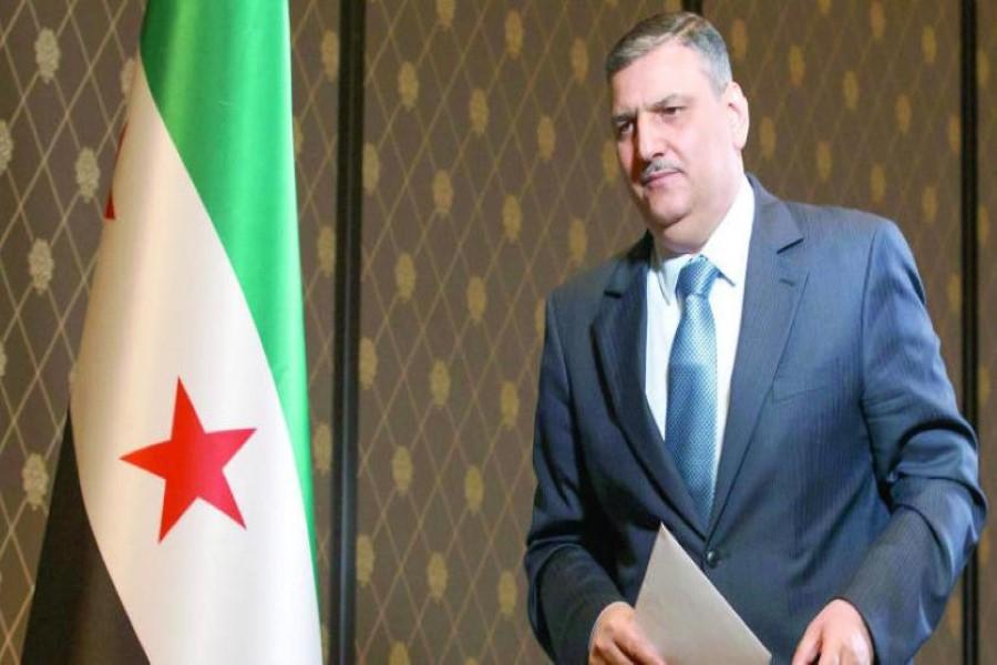 رياض حجاب يطالب المعارضة السورية بالتركيز على الشأن السوري أولاً