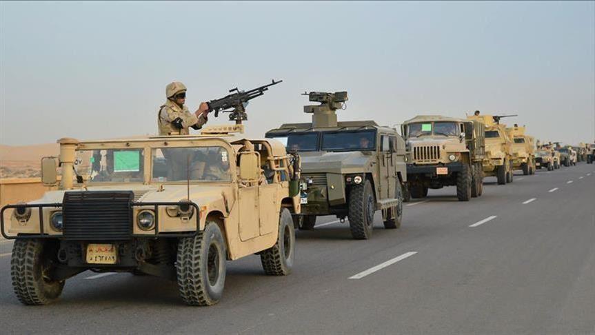 الحصول على توثيق  يثبت  وجود الجيش المصري على جبهة ريف حلب الغربي