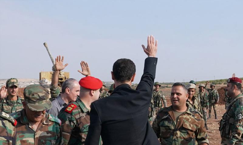 بشار الأسد يوجه كلمة لقواته بمناسبة عيد الجيش تتضمن طلباً بشأن الأراضي الخارجة عن سيطرته