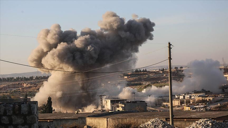 في ثاني أيام العيد.. النظام يقصف قرى وبلدات ريف إدلب الجنوبي