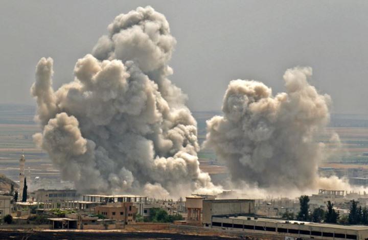 ضحايا مدنيون بقصف جوي روسي على ادلب