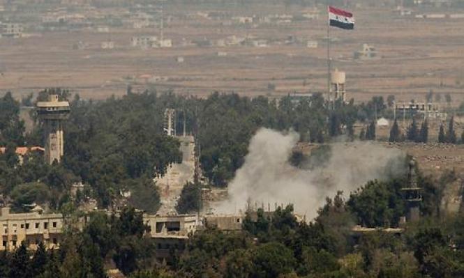 تفاصيل القصف الإسرائيلي لأهداف تعود للنظام السوري  جنوبي البلاد