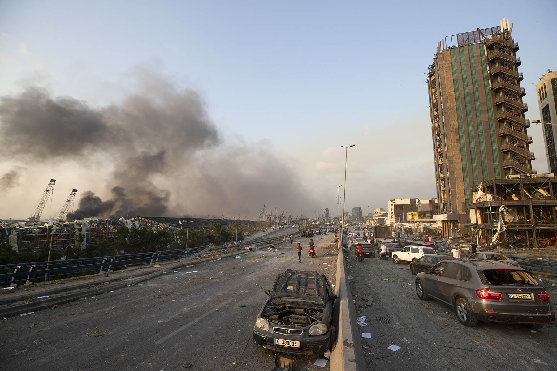 """انفجار أم هجوم؟.. رأي أميركي """"مغاير"""" بشأن كارثة بيروت"""