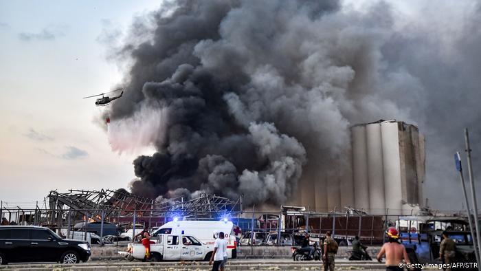 الخارجية الأمريكية : ضحايا أمريكيون في انفجار مرفأ بيروت