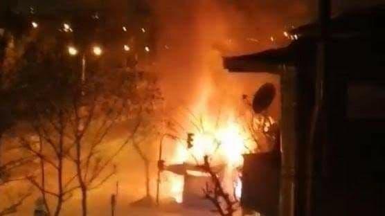وفاة طفلين سوريين جراء احتراق منزل عائلتهم في إسطنبول