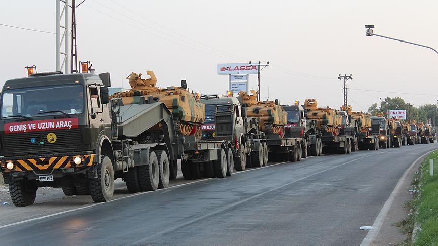 دخول تعزيزات تركية إلى ريف إدلب ضمت أكثر من 60 آلية...فيديو