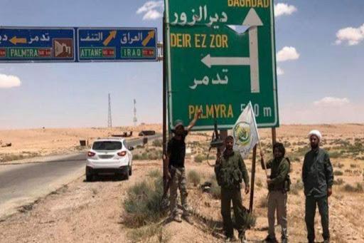 إيران تنقل عددا من مستشاريها وضباطها من دير الزور إلى تدمر
