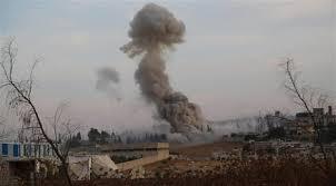 النظام يقصف قرى في ادلب و حماة ..والائتلاف يحذر ويدعو إلى تحرك دولي