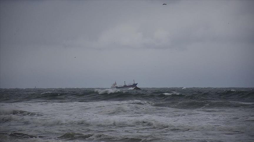 غرق سفينة شحن روسية قبالة السواحل التركية