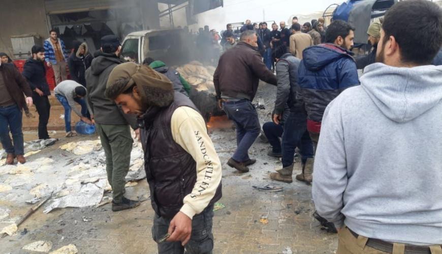 قتيل وعدد من الجرحى بانفجار في بلدة سجو شمال حلب