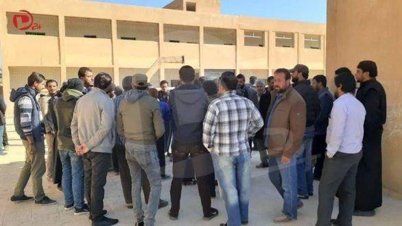 حملة لرفض التجنيد الإجباري في مناطق قسد بدير الزور
