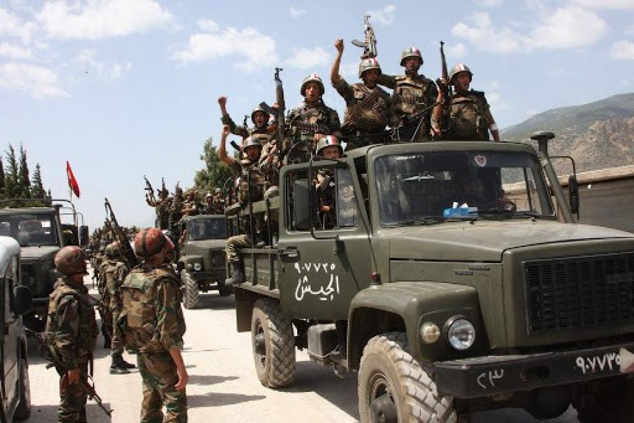 النظام يدفع بتعزيزات جديدة إلى مدينة كفر زيتا بريف حماه
