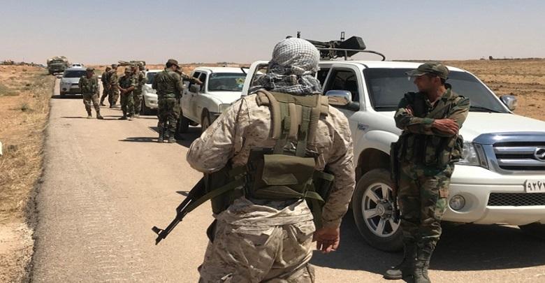 بتهمة السرقة...الفيلق الخامس يعتقل عدداً من الشبان بريف درعا