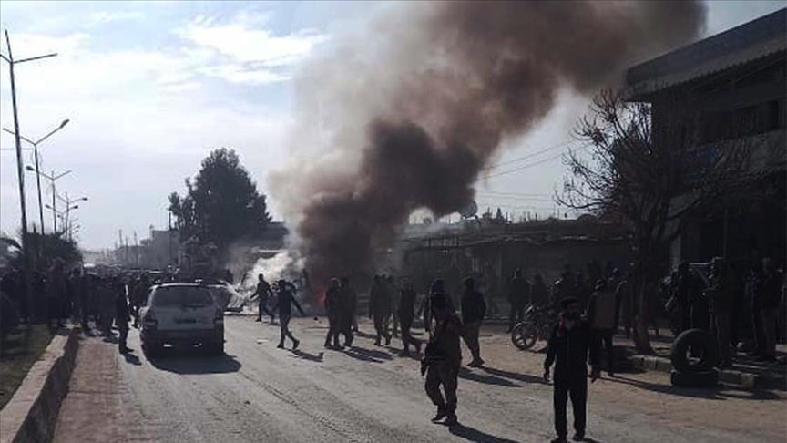 """تركيا: كاميرات المراقبة  تكشف متورطي تفجير """"رأس العين"""" السورية"""