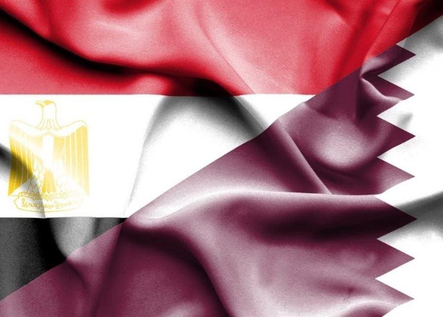 مصر تستأنف العلاقات الدبلوماسية مع قطر