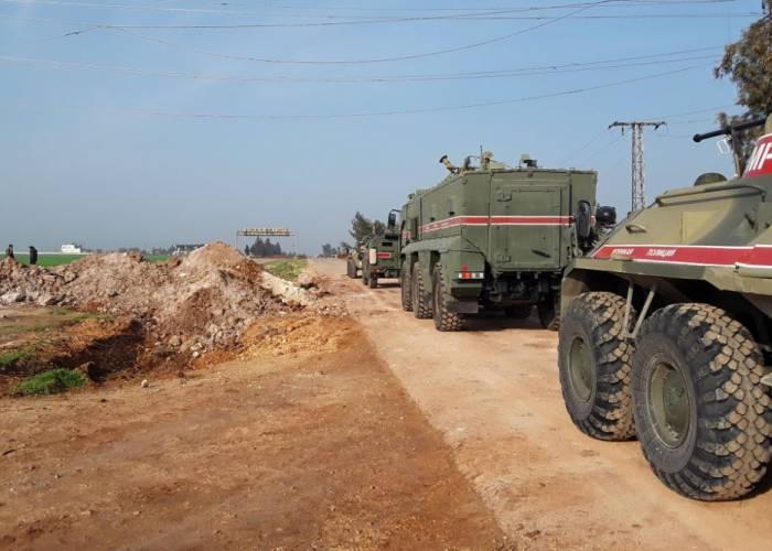 روسيا تنشئ نقطة عسكرية في مدينة سراقب بريف إدلب