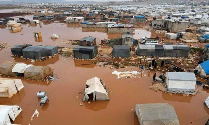 الأمم المتحدة: نتابع بقلق العواصف التي تجتاح شمال غربي سوريا