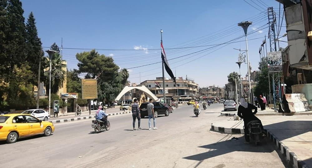 النظام يبلغ المدنين بأقتراب المعركة...حشود وتعزيزات للنظام وقسد إلى المربع الآمني في الحسكة
