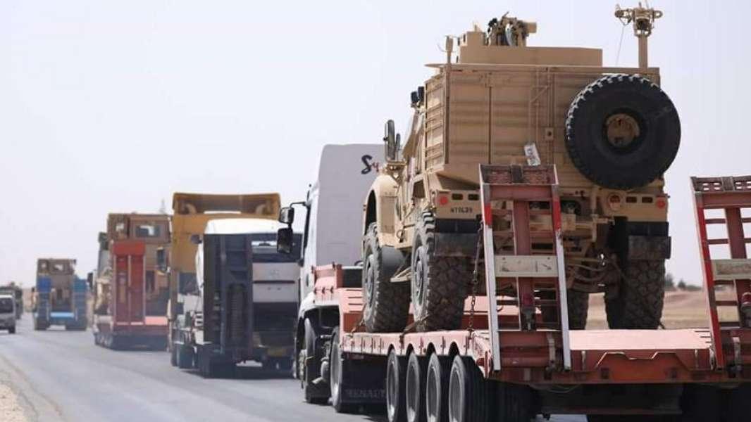 التحالف الدولي يدخل  تعزيزات عسكرية كبيرة الى شمال شرق سوريا