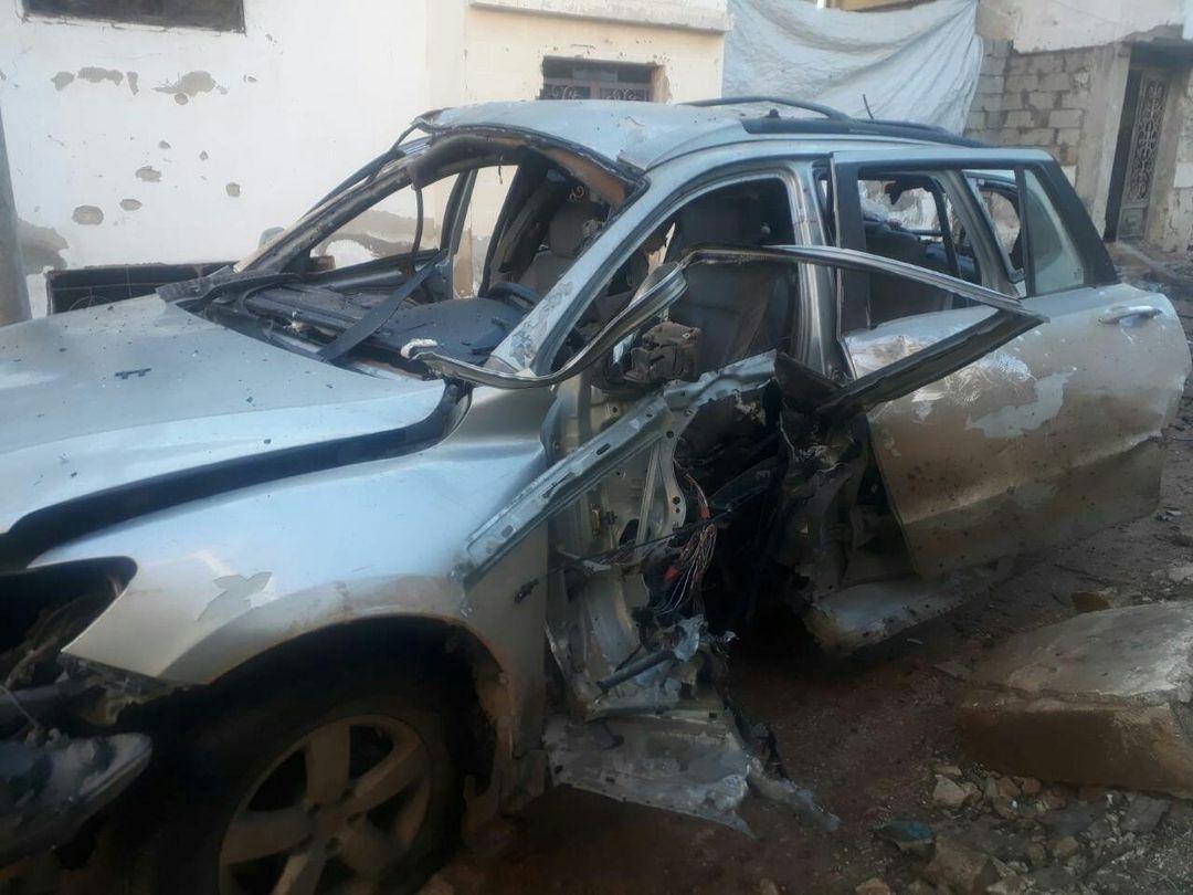 انفجار عبوة بسيارة قيادي من فيلق الشام شمالي إدلب