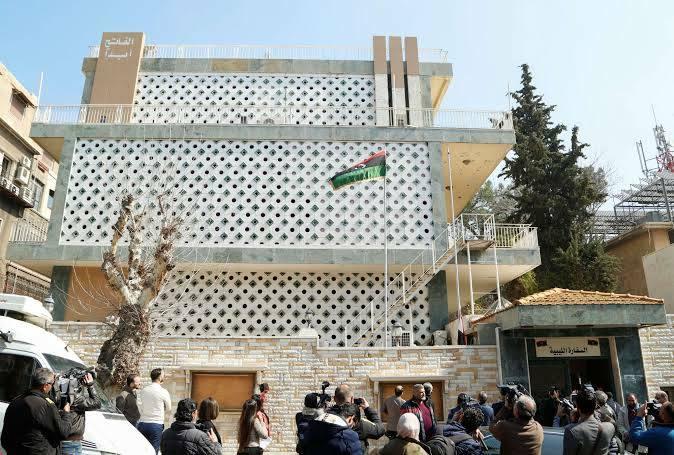 وفد ليبي يزور دمشق وتعيين قائم بأعمال السفارة الليبية فيها