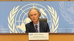بيدرسون: حل النزاع في سوريا يحتاج إلى تعاون دولي