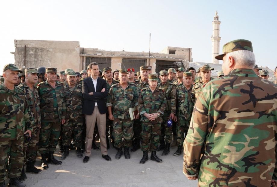 ثلاثون ضابطا  من طائفة  الأسد  يقودون التشكيلات العسكرية والأمنية للنظام