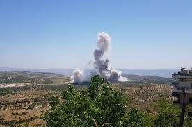 جرحى بإنفجار عبوتين ناسفتين في مدينة جاسم بريف درعا