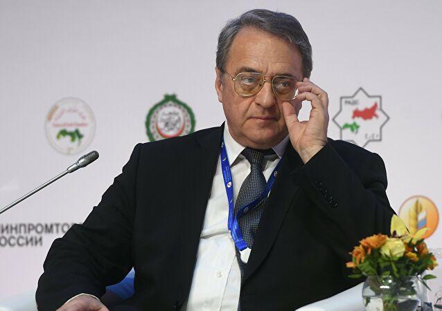 بوغدانوف يبحث مع بيدرسون التحضيرات لجلسة اللجنة الدستورية