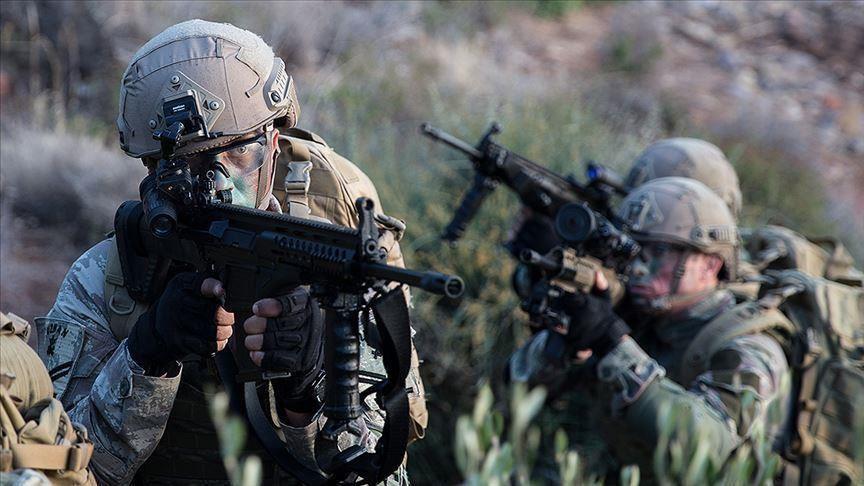 الدفاع التركية: تحييد 7 إرهابيين من ي ب ك شمالي سوريا