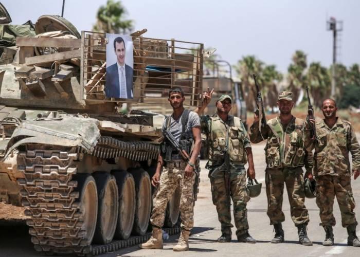 تأجيل المفاوضات المتعلقة بوقف اقتحام ريف درعا الغربي  بين اللجنة المركزية وضباط النظام