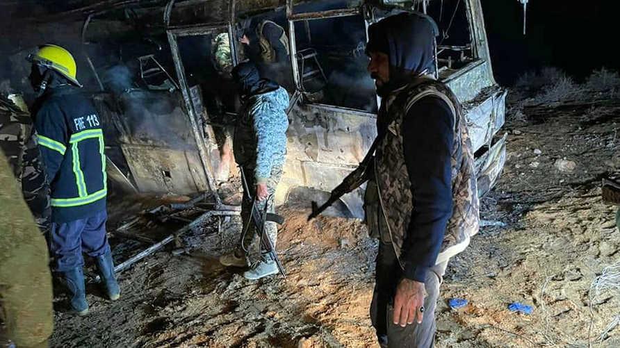 مقتل ثلاثة عناصر للنظام السوري في كمين نصبه داعش في دير الزور