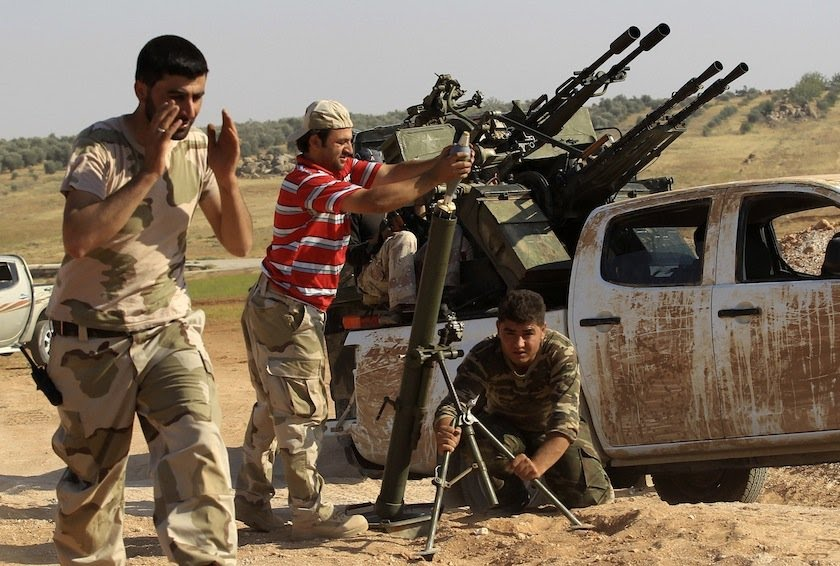 الجيش السوري الحر يعلق  على أحداث ريف درعا الغربي