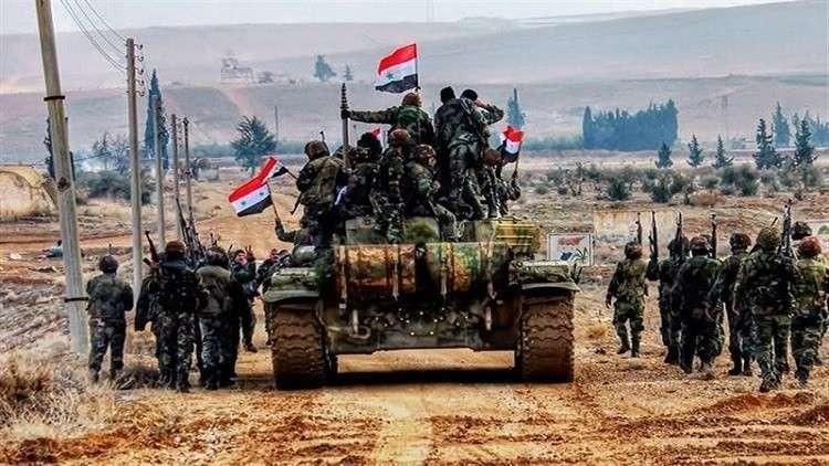 مناورات عسكرية للنظام في المناطق المحتلة بأرياف إدلب وحماة