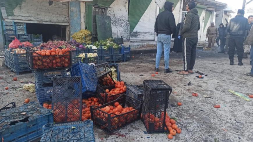 ضحايا في انفجار عبوة ناسفة بمدينة تل أبيض شمالي الرقة