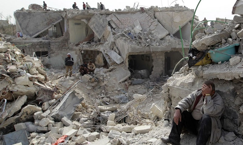 الشبكة السورية: 22 مجزرة ارتكبها النظام وروسيا خلال عام