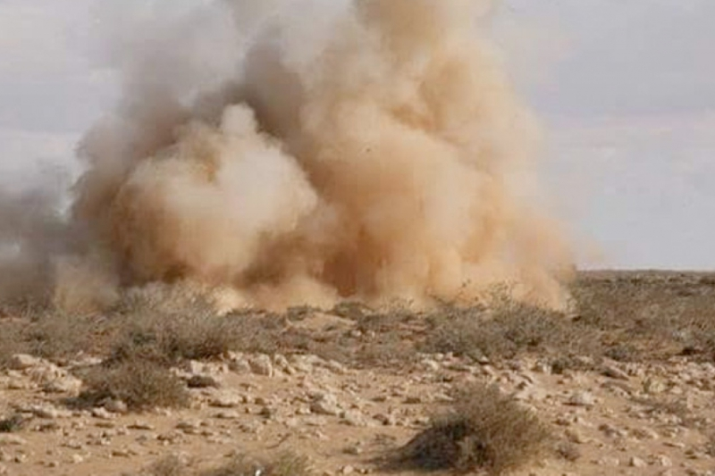 صواريخ وقذائف هاون تسقط بالقرب من نقاط الميليشيا الإيرانية في الميادين