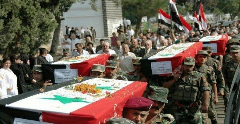 النظام يفقد  عددا من ضباطه  وعناصره  في مناطق سورية متفرقة بينهم عميد