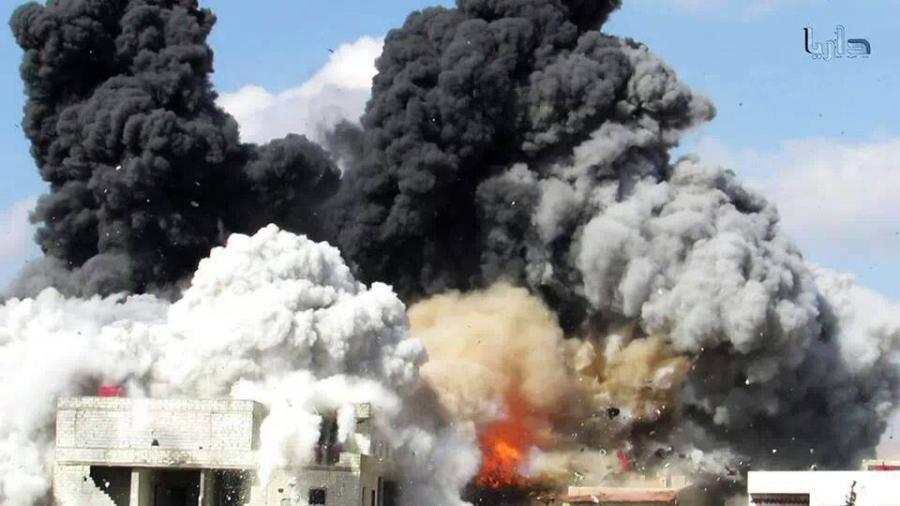 تقرير: الأسد قصف المدنيين بأكثر من 82 ألف برميل متفجر