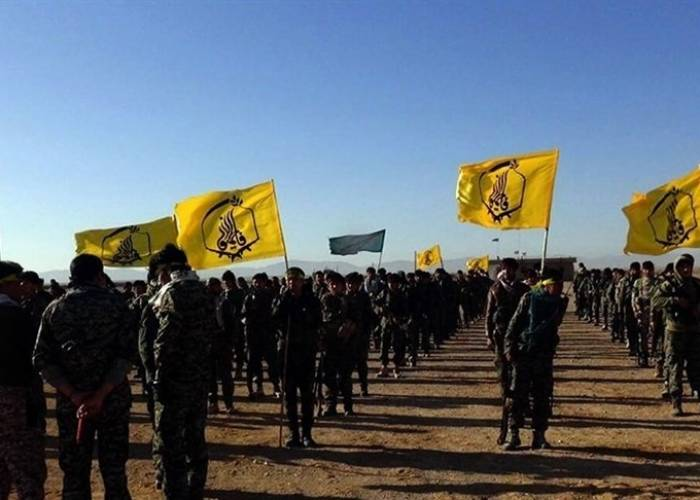 Fatemiyoun militia members were killed by an explosive device in eastern Syria