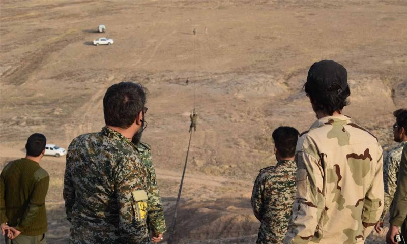 The Revolutionary Guard loses contact with 5 elements in Albu-Kamal desert