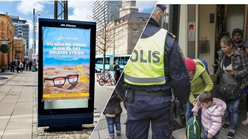 ملصق سوريا المشمسة يفتح النار على اليمين المتطرف في الدنمارك