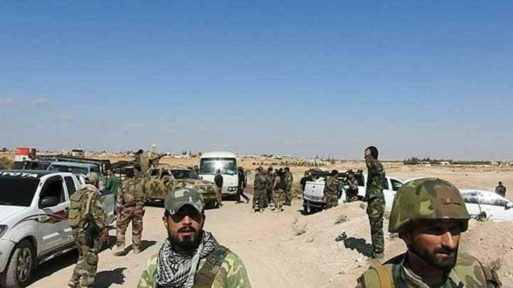 اشتباكات بين الحرس الثوري وميليشيا الدفاع الوطني في تدمر