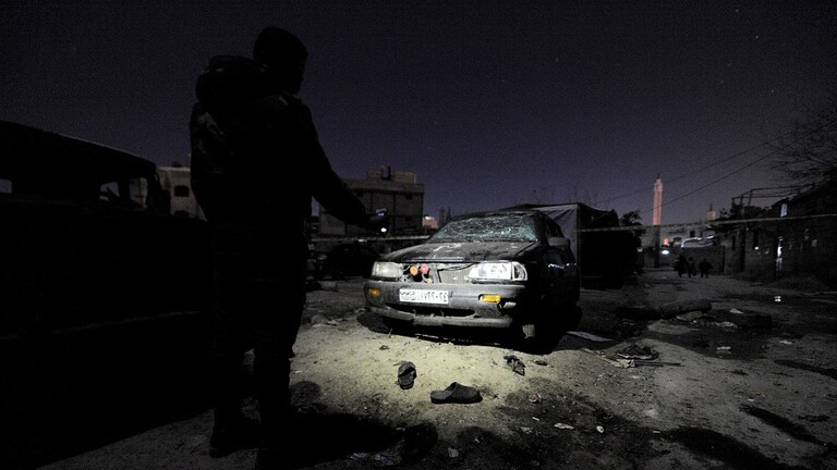 A massive explosion causes damage and injuries in the Syrian capital, Damascus