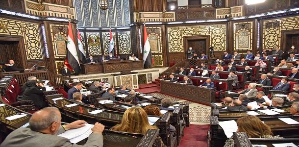 مجلس الشعب التابع للنظام يقر مشروع قانون الرسوم العقارية
