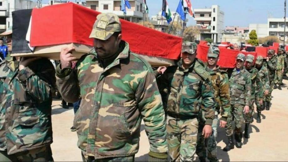 بينهم قيادي وعميد قوات النظام تخسر عدداً من عناصرها في مناطق متفرقة