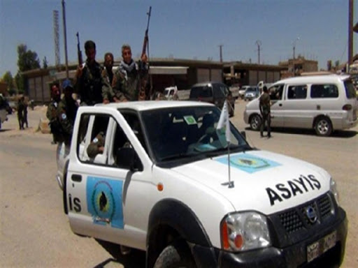 Violent clashes in Qamishli between the regime's National Defense Forces and the Asayish
