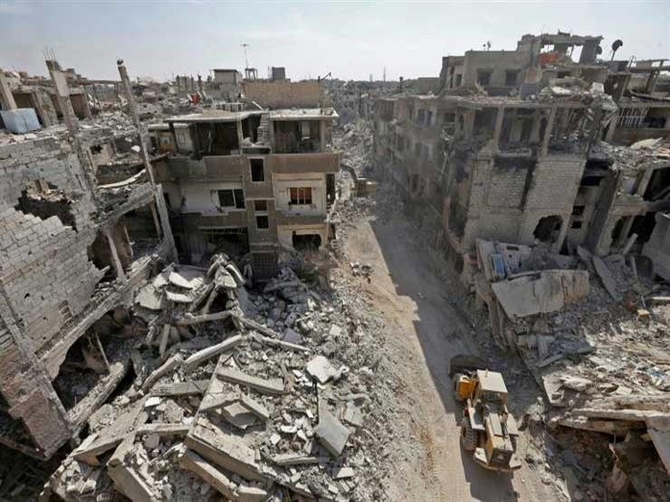 Dozens of bodies are still under the rubble of Yarmouk camp, and an organization is calling the regime to take them out.